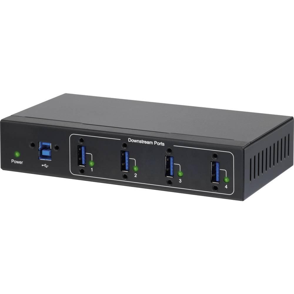 Renkforce 4 Port USB 3.0 Industrijski Hub