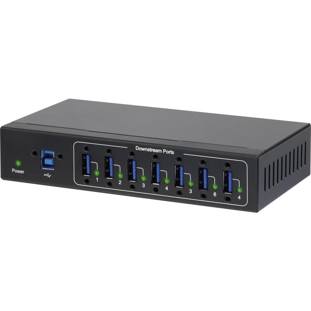 Renkforce 7 Port USB 3.0 Industrijski Hub