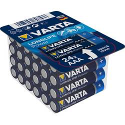 Micro baterija (AAA) alkalno-manganova Varta High Energy LR03 1.5 V 24 kosov