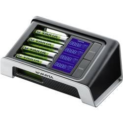 Punjač za brzo punjenje Varta LCD Ultra-Fast uklj. 4 ReadyToUse Mignon baterije 2400 mAh 57675101441
