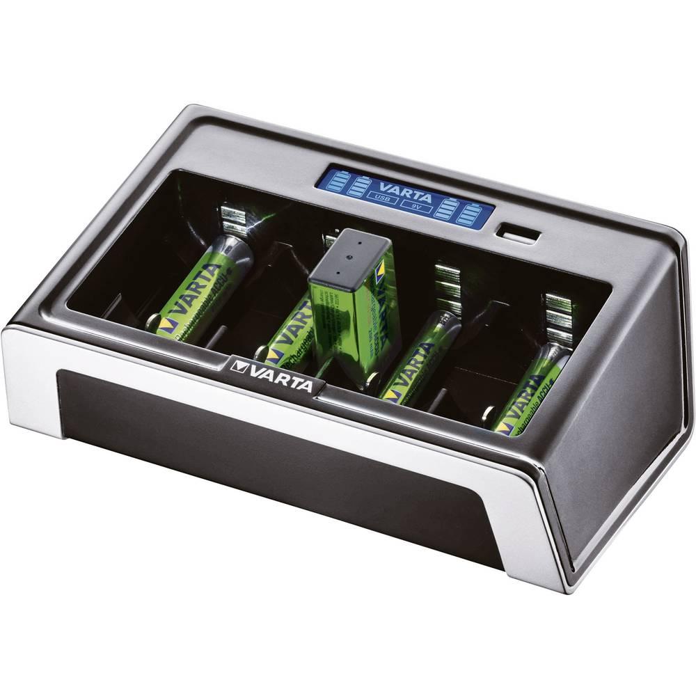 Varta Univerzalni LCD polnilnik za okrogle baterije, polnilni tok maks. 450 mA 57678101401
