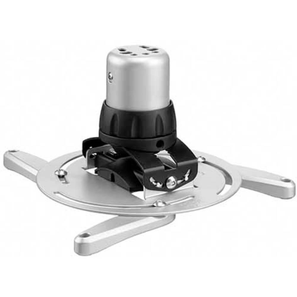 Stropni nosilec za projektor, nagiben, vrtljiv, razdalja od tal/stropa (maks.): 14.4 cm Vogel´s PPC 1500 srebrne barve