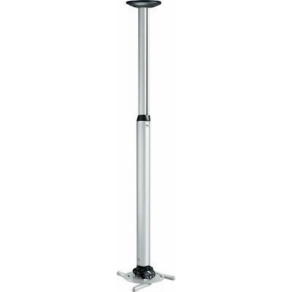 Stropni nosilec za projektor, nagiben, vrtljiv, razdalja od tal/stropa (maks.): 135 cm Vogel´s PPC 1585 srebrne barve