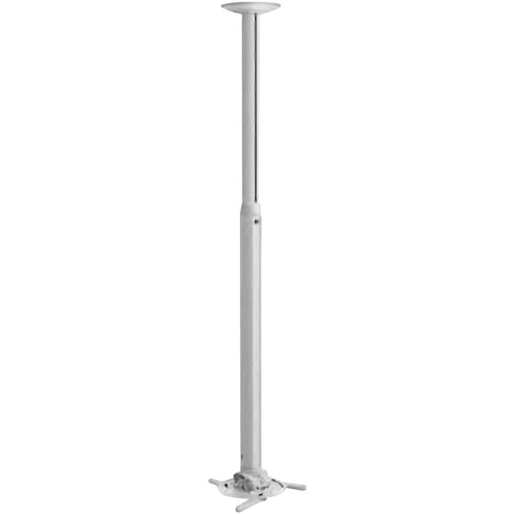 Stropni nosilec za projektor, nagiben, vrtljiv, razdalja od tal/stropa (maks.): 135 cm Vogel´s PPC 1585 bele barve