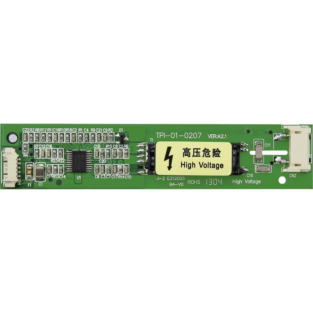 LCD inverter 12 V/DC primeren za: CCFL osvetlitev ozadja (D x Š x V) 95.5 x 20 x 5 mm TPI-01-0207-M1