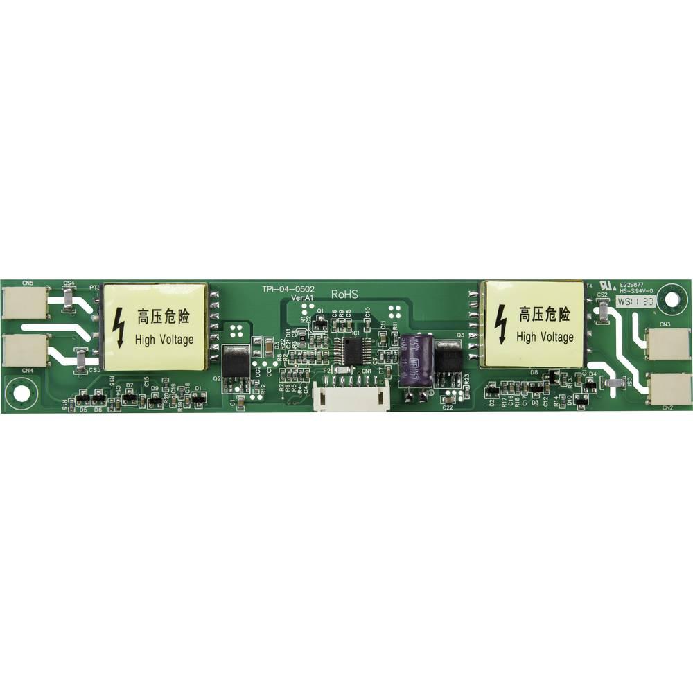 LCD inverter 12 V/DC pogodan za: CCFL pozadinsko osvjetljenje (D x Š x V) 166 x 32 x 11 mm TPI-04-0502