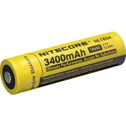 NiteCore 18650 Li-Ion akumulator 3400 mAh za žepno svetilko NL189