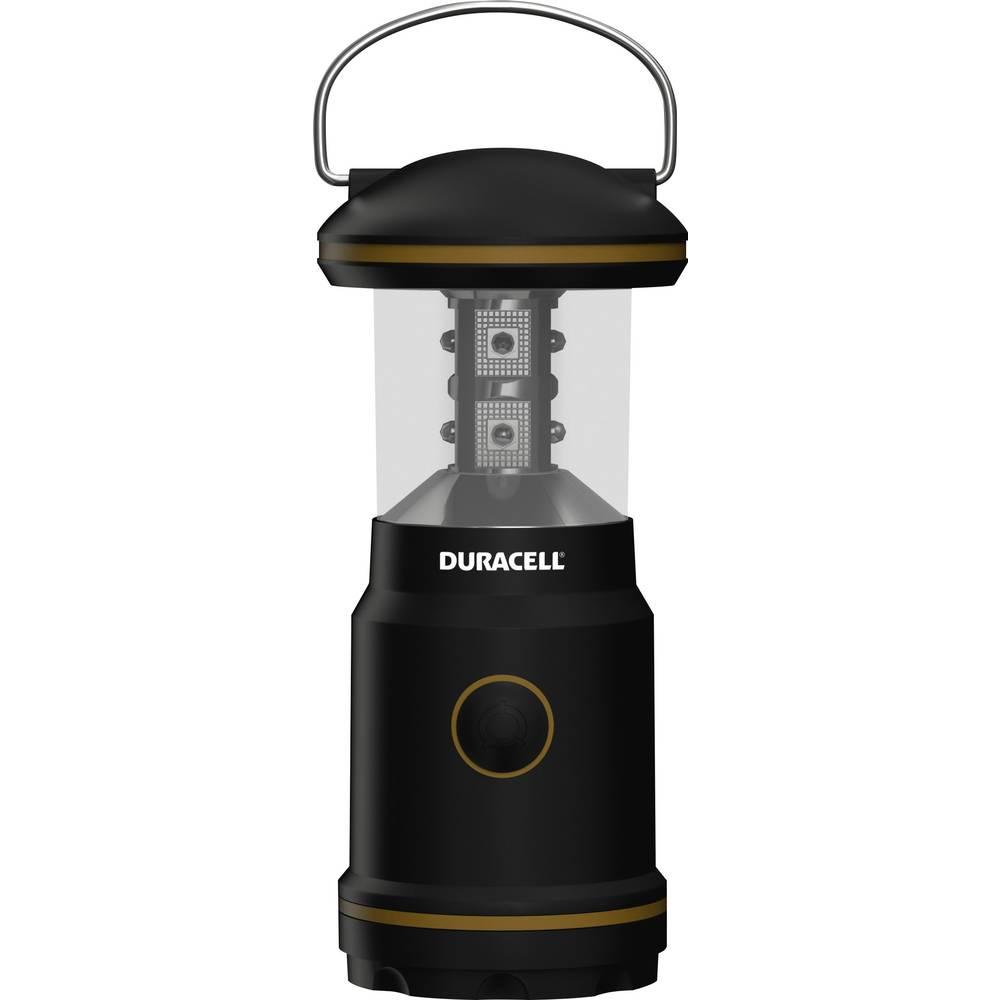 LED laterna za kampiranje Duracell Explorer 8 LED baterijska, 190 g, črne barve, LNT-10