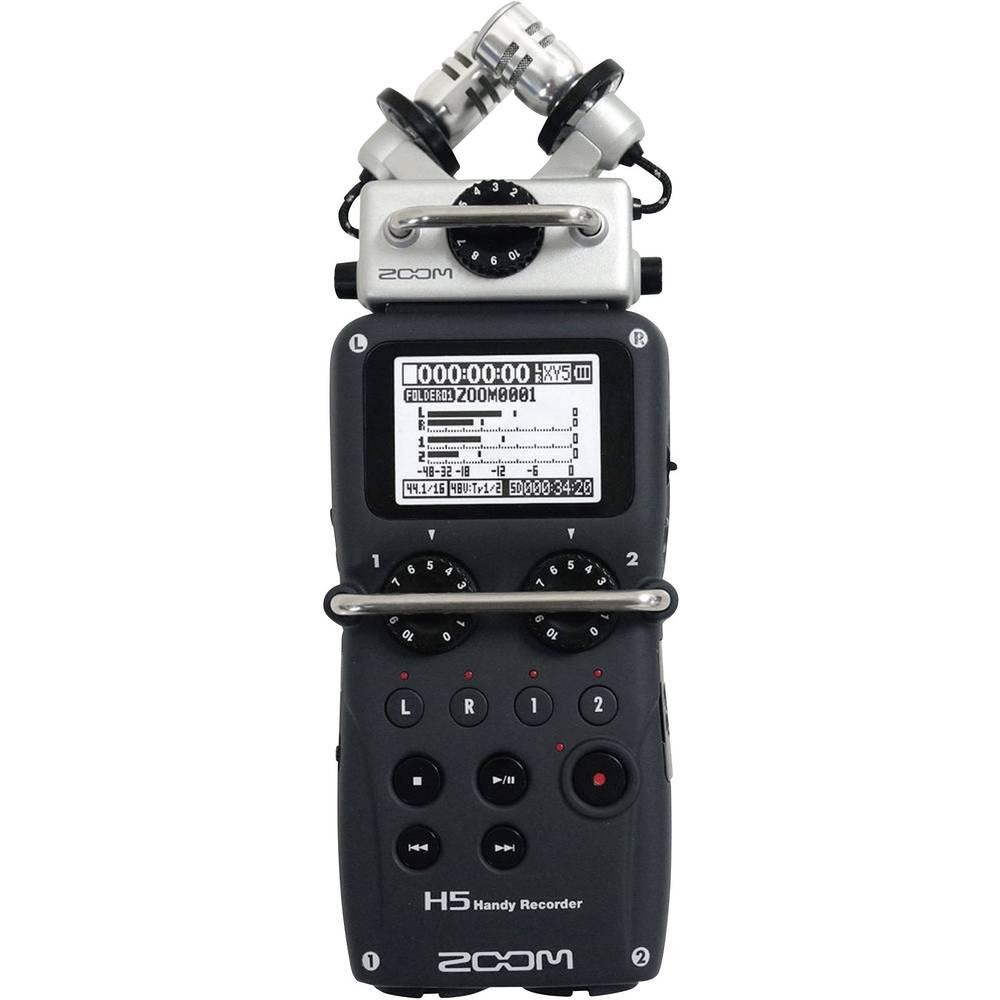 Zoom H5-Prenosni snemalnik zvoka, črn