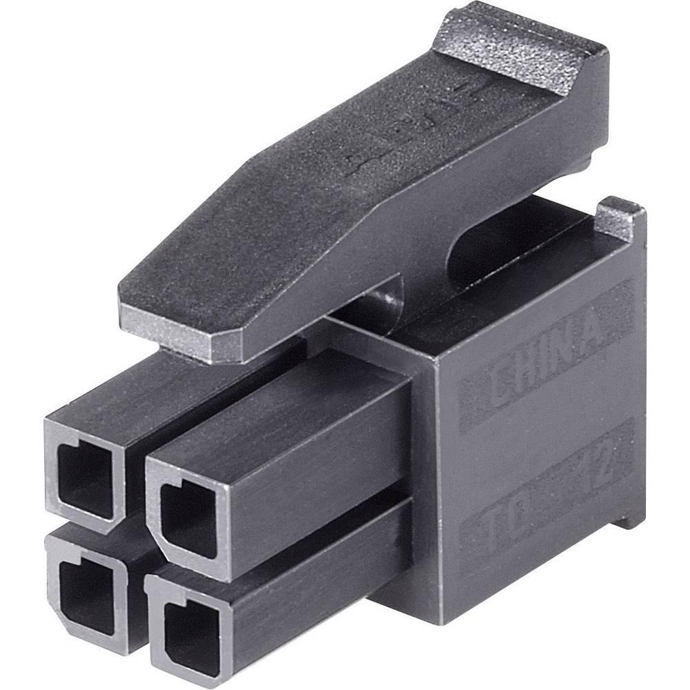 Tilslutningskabinet-kabel Micro-MATE-N-LOK (value.1360559) Samlet antal poler 24 TE Connectivity 2-794617-4 Rastermål: 3 mm 1 st