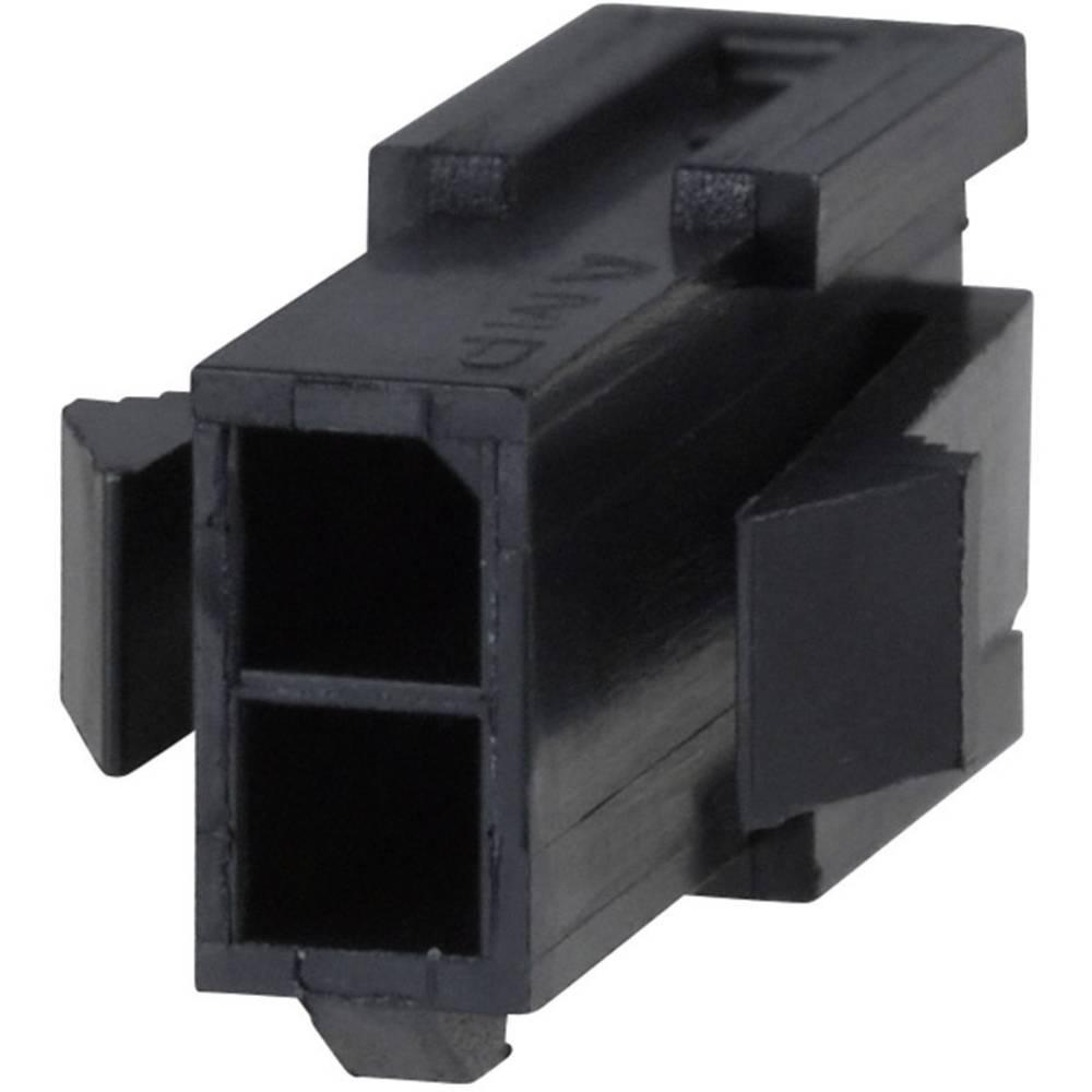 Stiftkabinet-kabel Micro-MATE-N-LOK (value.1360559) Samlet antal poler 12 TE Connectivity 1-794615-2 Rastermål: 3 mm 1 stk