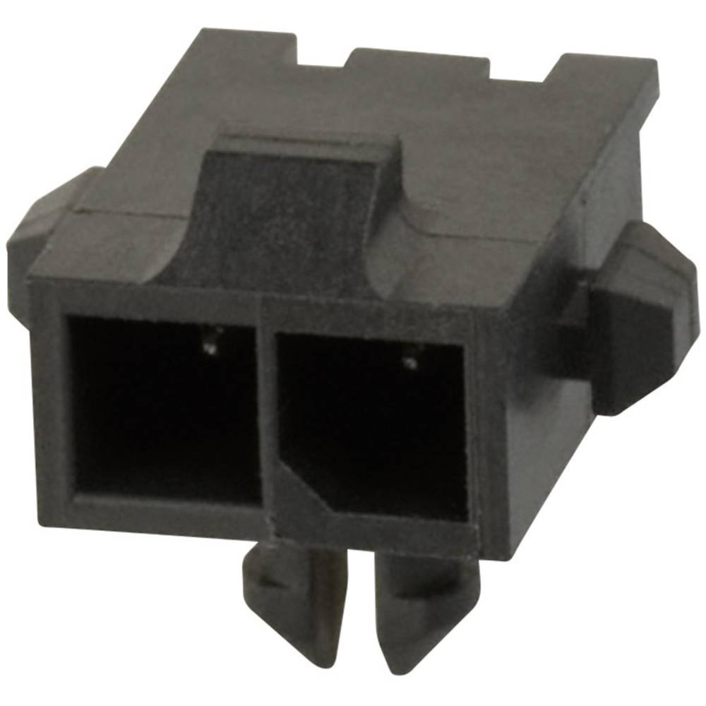 Stiftliste (standard) Micro-MATE-N-LOK Samlet antal poler 2 TE Connectivity 2-1445055-2 Rastermål: 3 mm 1 stk
