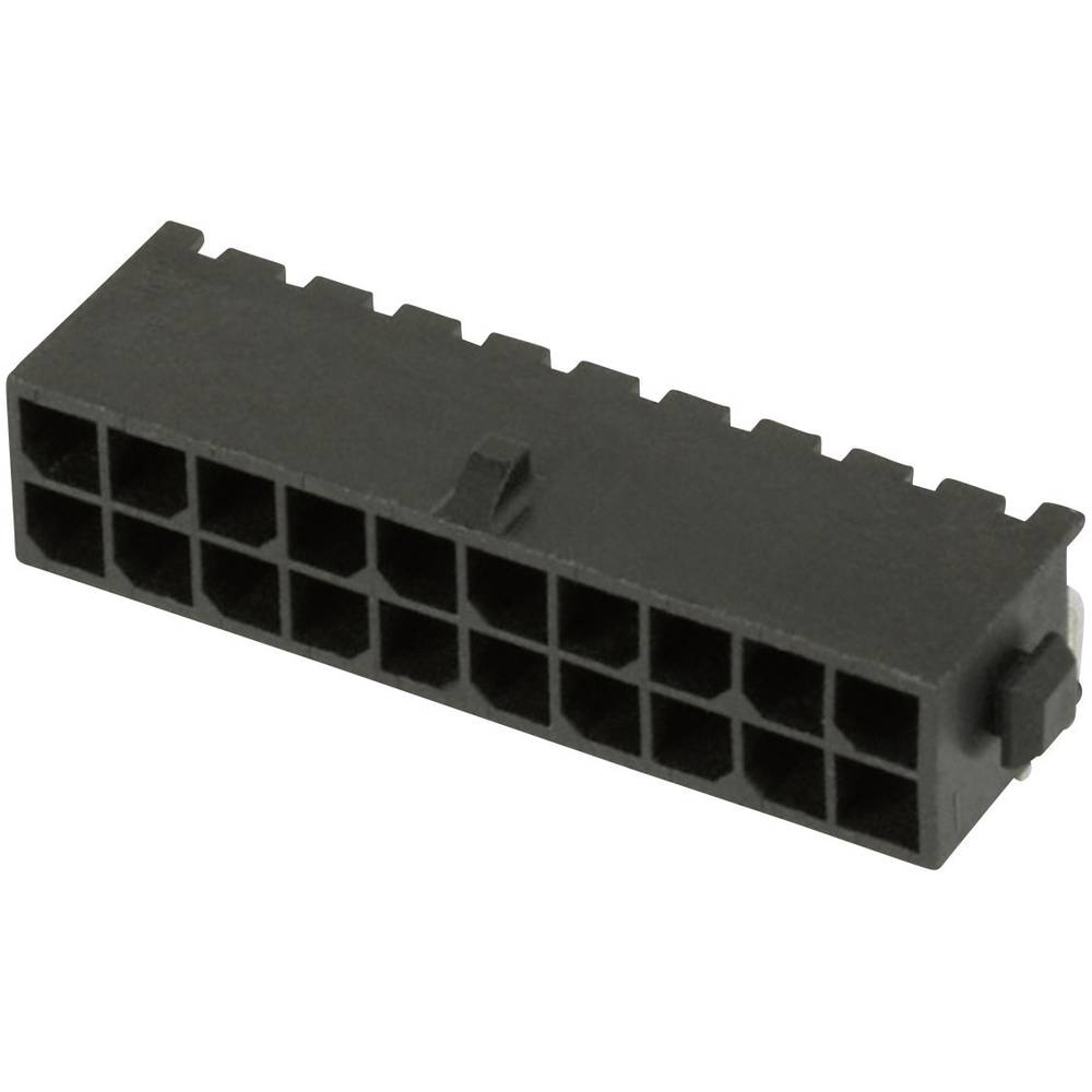 Stiftliste (standard) Micro-MATE-N-LOK (value.1360559) Samlet antal poler 8 TE Connectivity 3-794618-8 Rastermål: 3 mm 1 stk