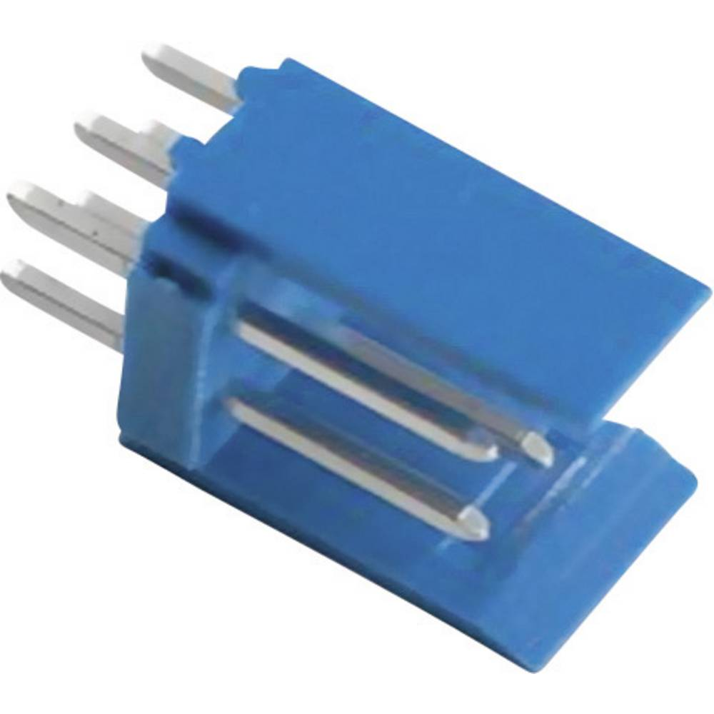 Stiftliste (standard) AMPMODU HE14 (value.1360570) Samlet antal poler 6 TE Connectivity 281739-3 Rastermål: 2.54 mm 1 stk