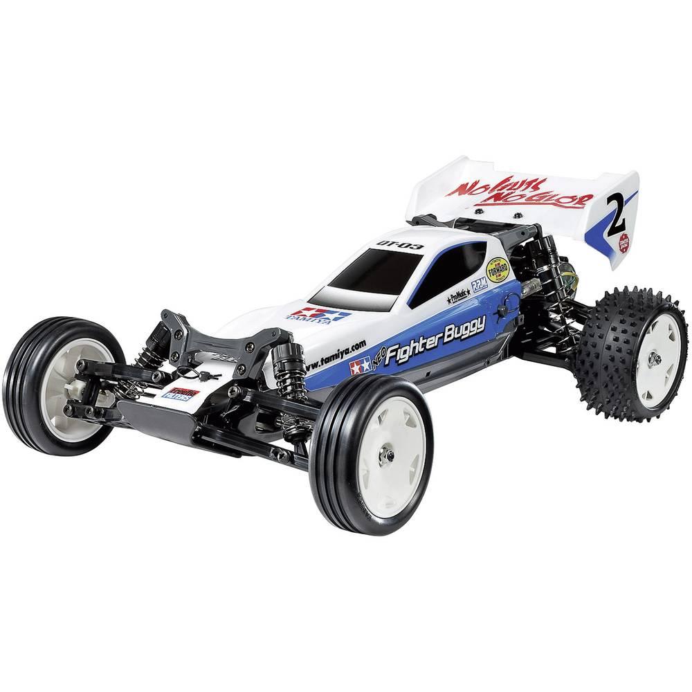 RC model avta Tamiya 1:10, električni Buggy Neo Fighter, krtačni elektromotor, 2WD, za sestavljanje 300058587