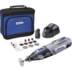 Multiverktyg batteridriven Inkl. 2x batteri, Inkl. Tillbehör, Inkl. väska 25 delar 10.8 V 2 Ah Dremel 8200-20 F0138200JJ
