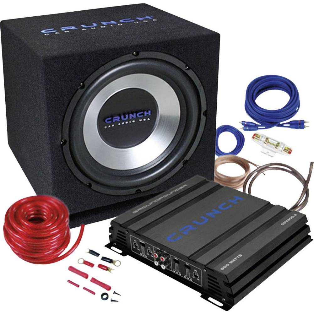 Car-HiFi-Set Crunch CBP500