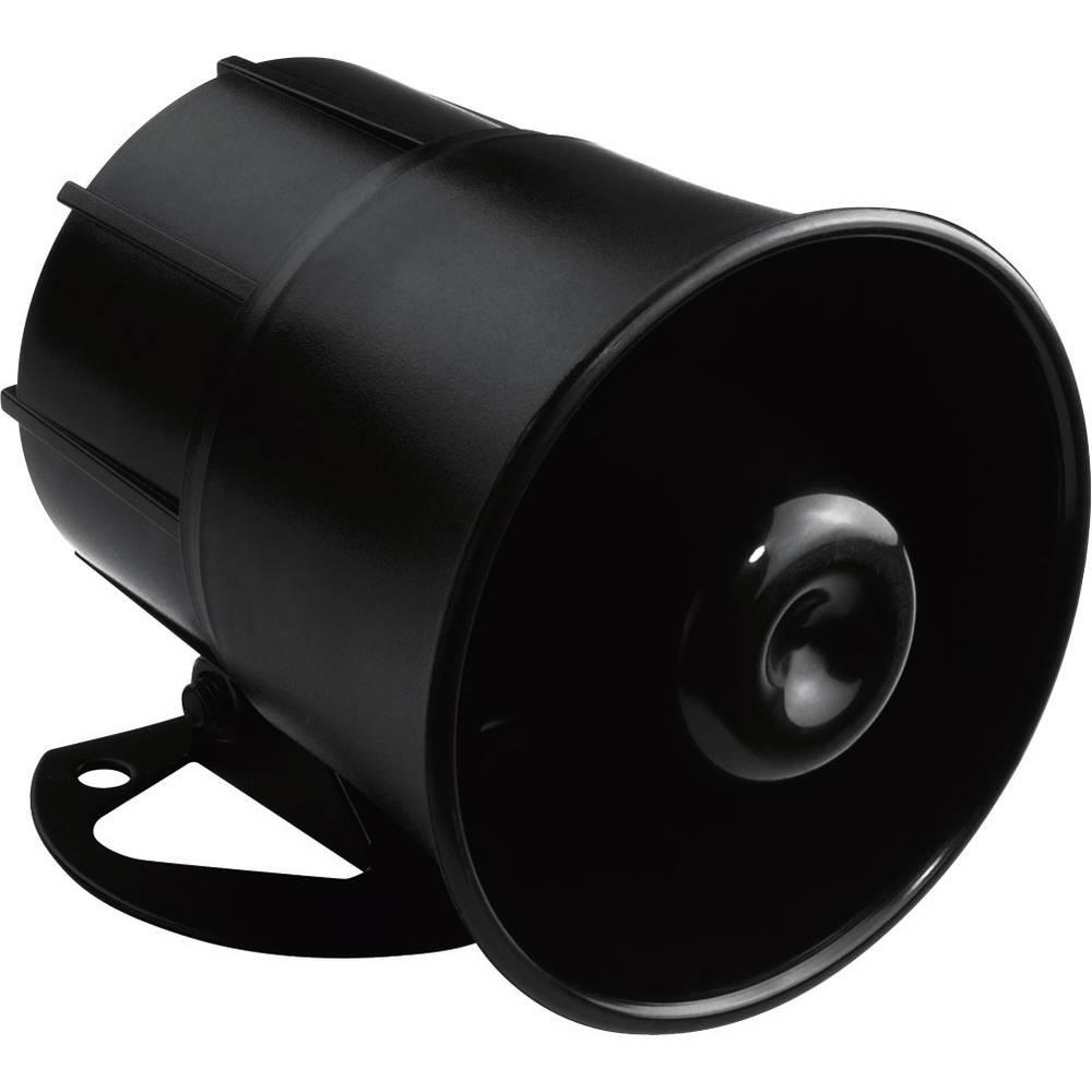 Zvučnik s tlačnom komorom Monacor NR-20KS 10 W Crna 1 ST