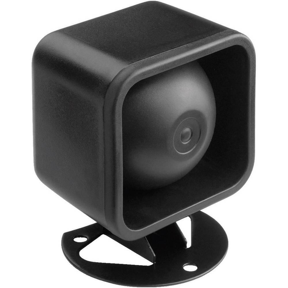 Zvočnik v obliki sirene Monacor NR-18KS 10 W črn, 1 kos