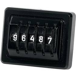 Herbert Richter 5-znamenkasti brojač kilometara crni 174/1