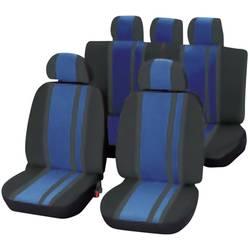 Komplet sedežnih prevlek Unitec Newline, 14-delni, modro črne barve, vsi sedeži 84959
