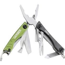 Večnamensko orodje Gerber Dime, zelene barve, GE31-001132, žepni nož, število funkcij 10, 62 g, dolžina rezila 40 mm