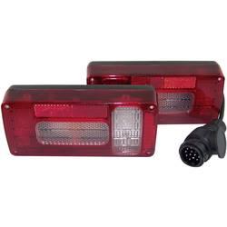 Halogenska zadnja luč za priklopnike, luč za vzvratno vožnjo, zavorna luč, smernik, meglenka, luč za vzvratno vožnjo, rdeča, bel