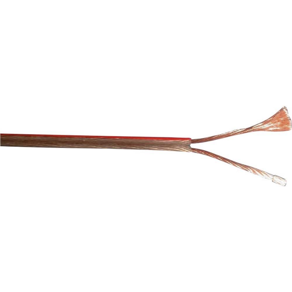 Kabel za zvočnik 2 x 4 mm transparentni Bedea 10529811 metrsko blago