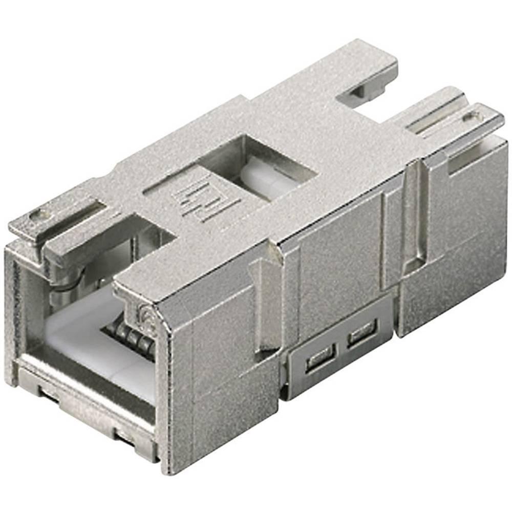 STX V1 RJ45-sklopčni vstavek kat.6 spona, raven, polov:8P8C J80029A0010 Telegärtner J80029A0010 1 kos
