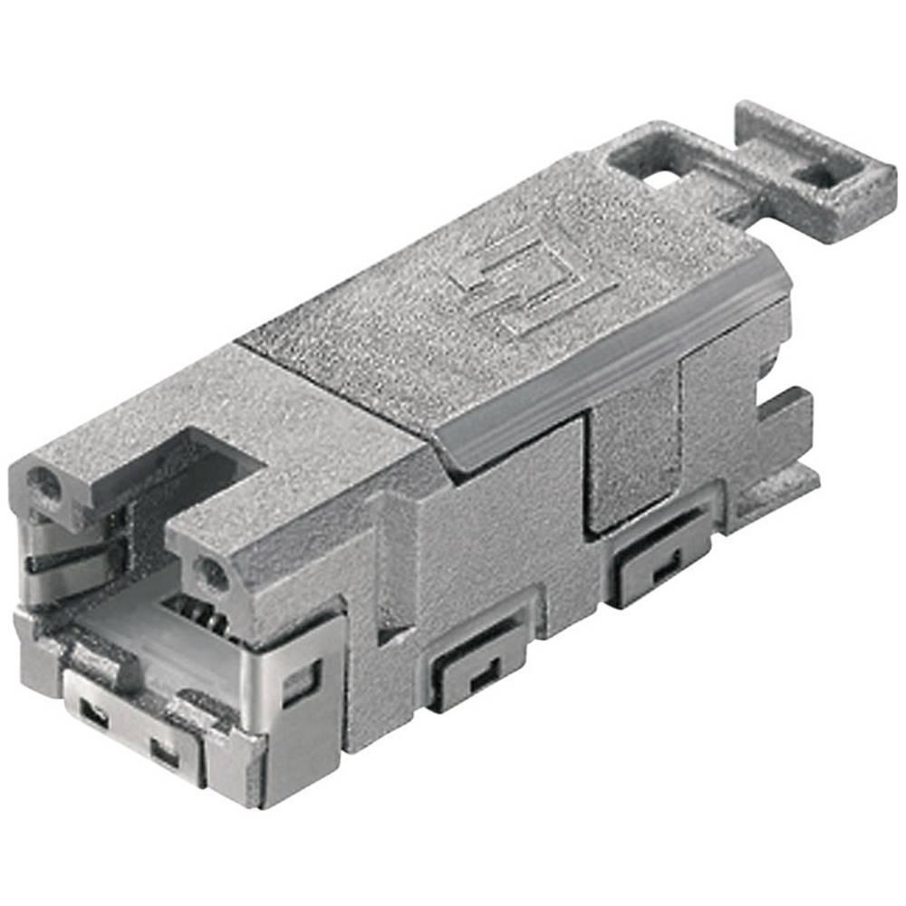 STX V1 RJ45-modulni vstavek kat.6A vtičnica, raven, polov:8P8C J80029A0001 Telegärtner J80029A0001 1 kos