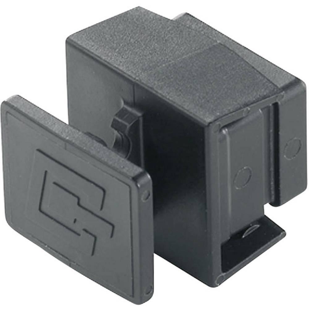 Pokrov za zaščito pred prahom za prirobnice, verzije 4 H80030A0005 črne barve Telegärtner H80030A0005 1 kos