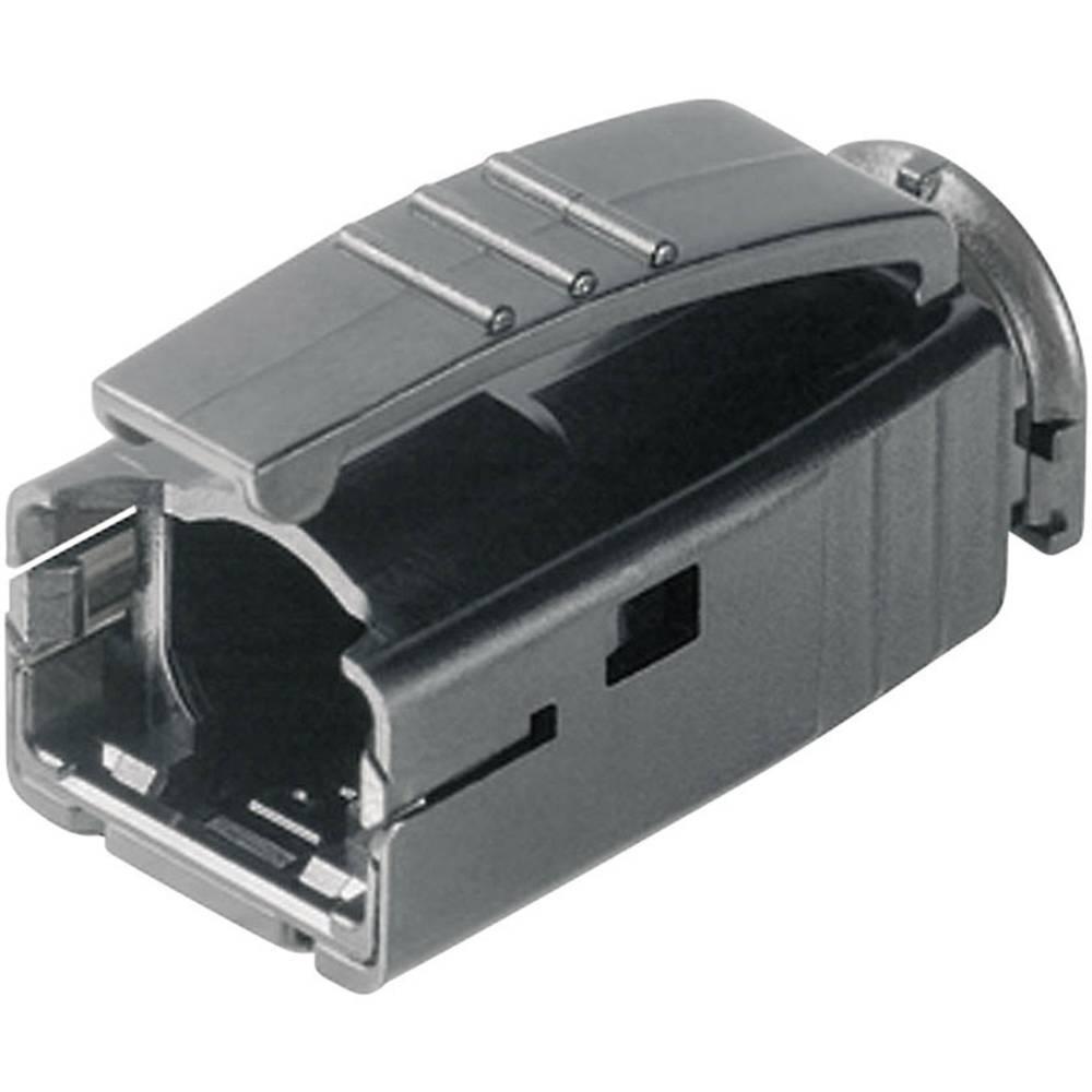 STX ustnik za zaščito pred ukrivljanjem za RJ45-vtič H86011A0006 črne barve Telegärtner H86011A0006 1 kos