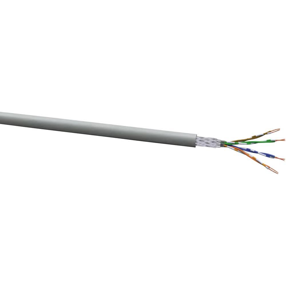 VOKA-LAN XL AN flex 200 SF/UTP siv meterski VOKA kabel bele barvewerk
