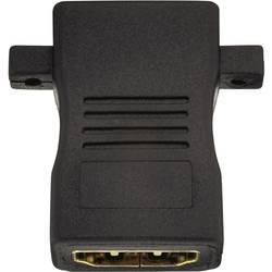 HDMI adapter, raven [1x HDMI vtičnica   1x HDMI vtičnica] 0 m črne barve, Inakustik