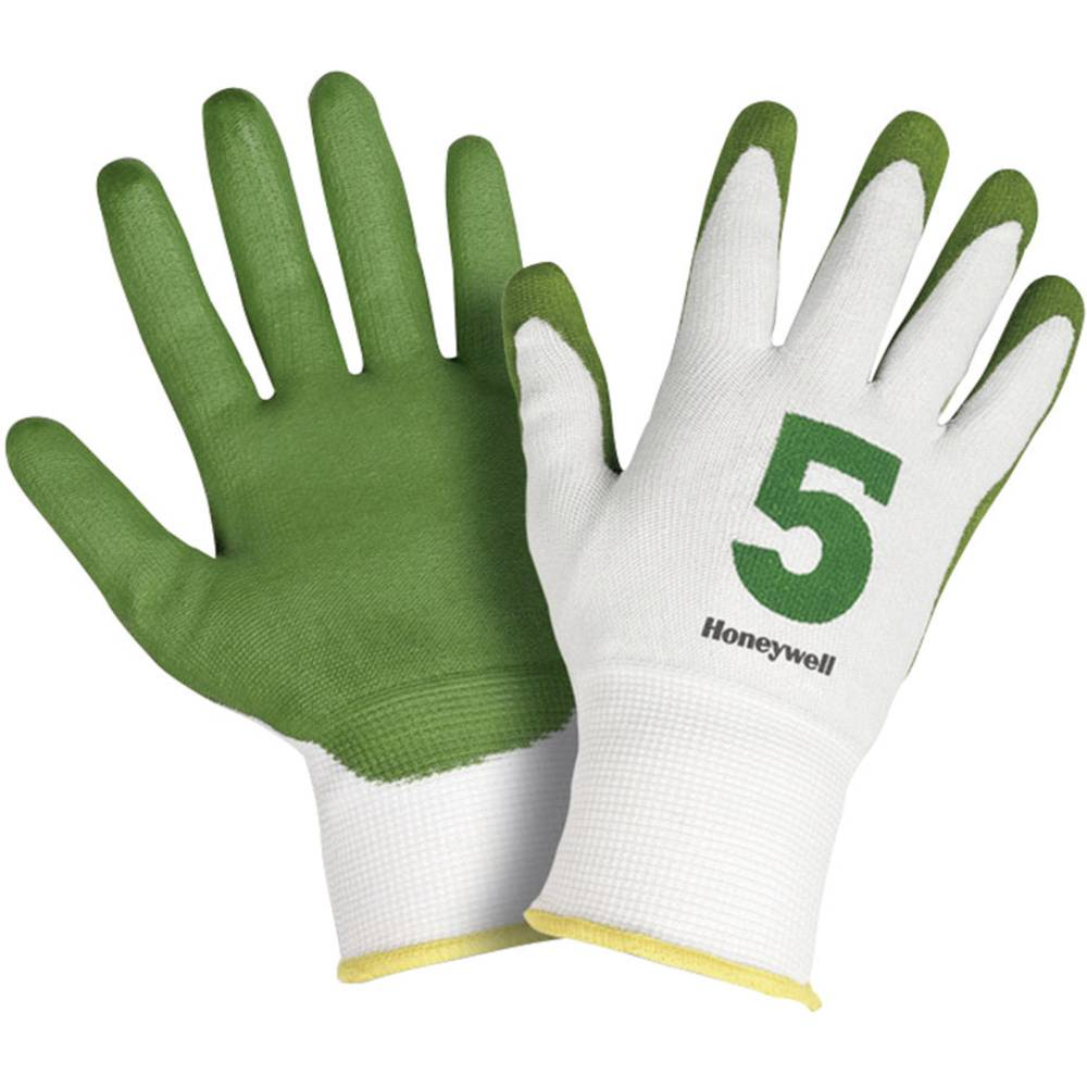 Rokavice za zaščito pred urezi Honeywell Check & Go Green PU 5, Dyneema, Polyamid, kompoz. vlakna, vel. 11, 2332545-11