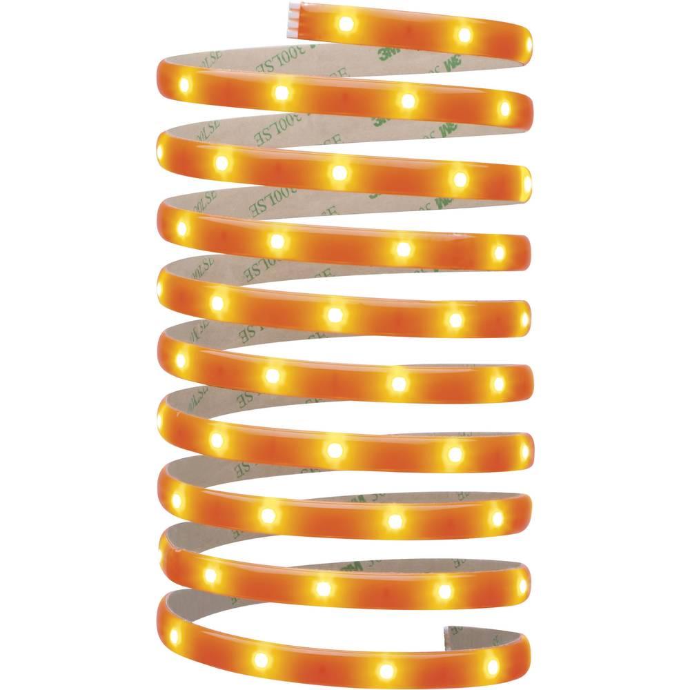 Notranja dekorativna razsvetljava Paulmann YourLED Deco trak, osnovni komplet, fluorescentno oranžna LED, 70506