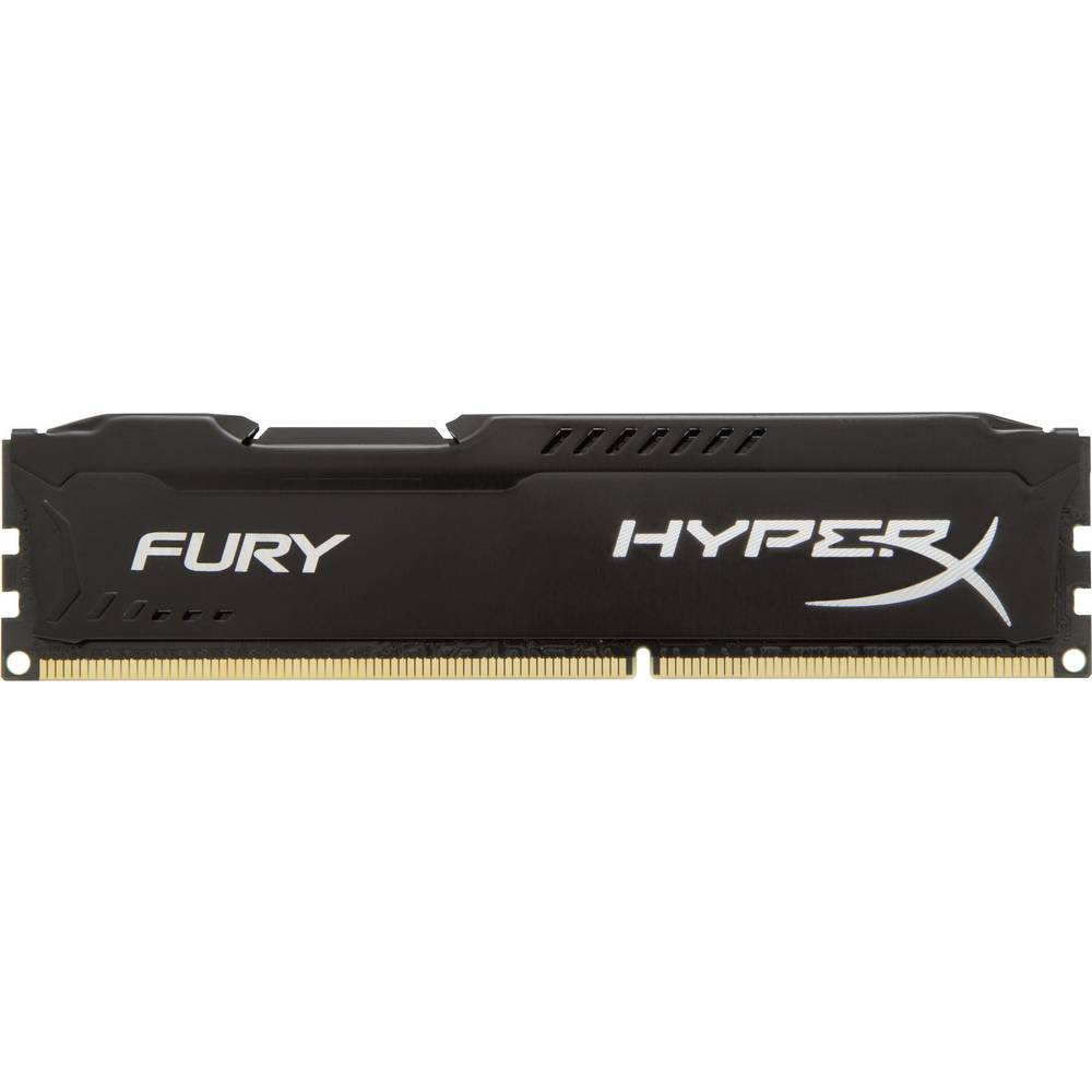 Računalniški modul za delovni pomnilnik Kingston HyperX Fury Black HX316C10FB/4 4 GB 1 x 4 GB DDR3-RAM 1600 MHz CL10 10-10-37