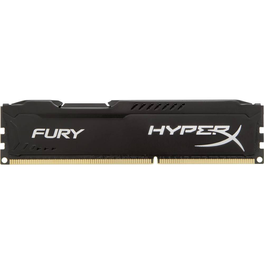 Računalniški modul za delovni pomnilnik Kingston HyperX Fury Black HX316C10FB/8 8 GB 1 x 8 GB DDR3-RAM 1600 MHz CL10 10-10-30