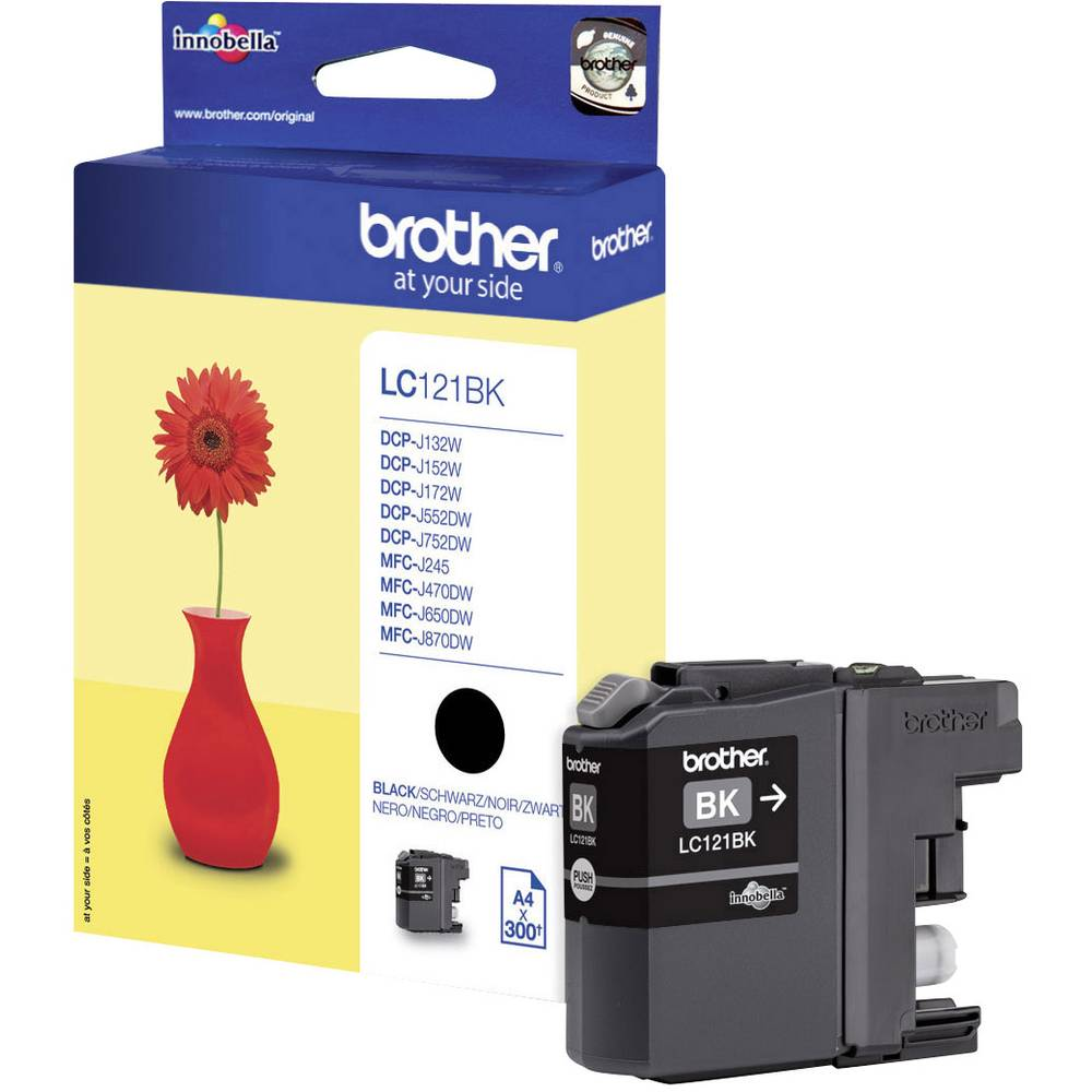 Patrona za pisač Original Brother LC-121BK crna