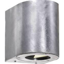 Nordlux zunanja stenska LED-svetilka Canto, 6 W, topla bela svetloba, pocinkana, 77571031