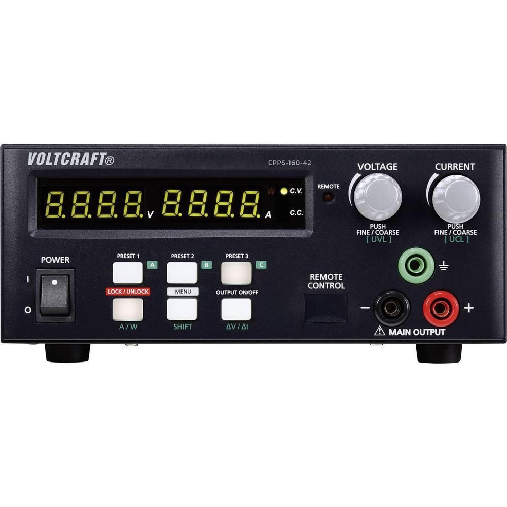 Laboratorijski napajalnik, nastavljiv VOLTCRAFT CPPS-160-42 0.02 - 42 V/DC 0.01 - 10 A 160 W USB z možnostjo daljinskega krmilje