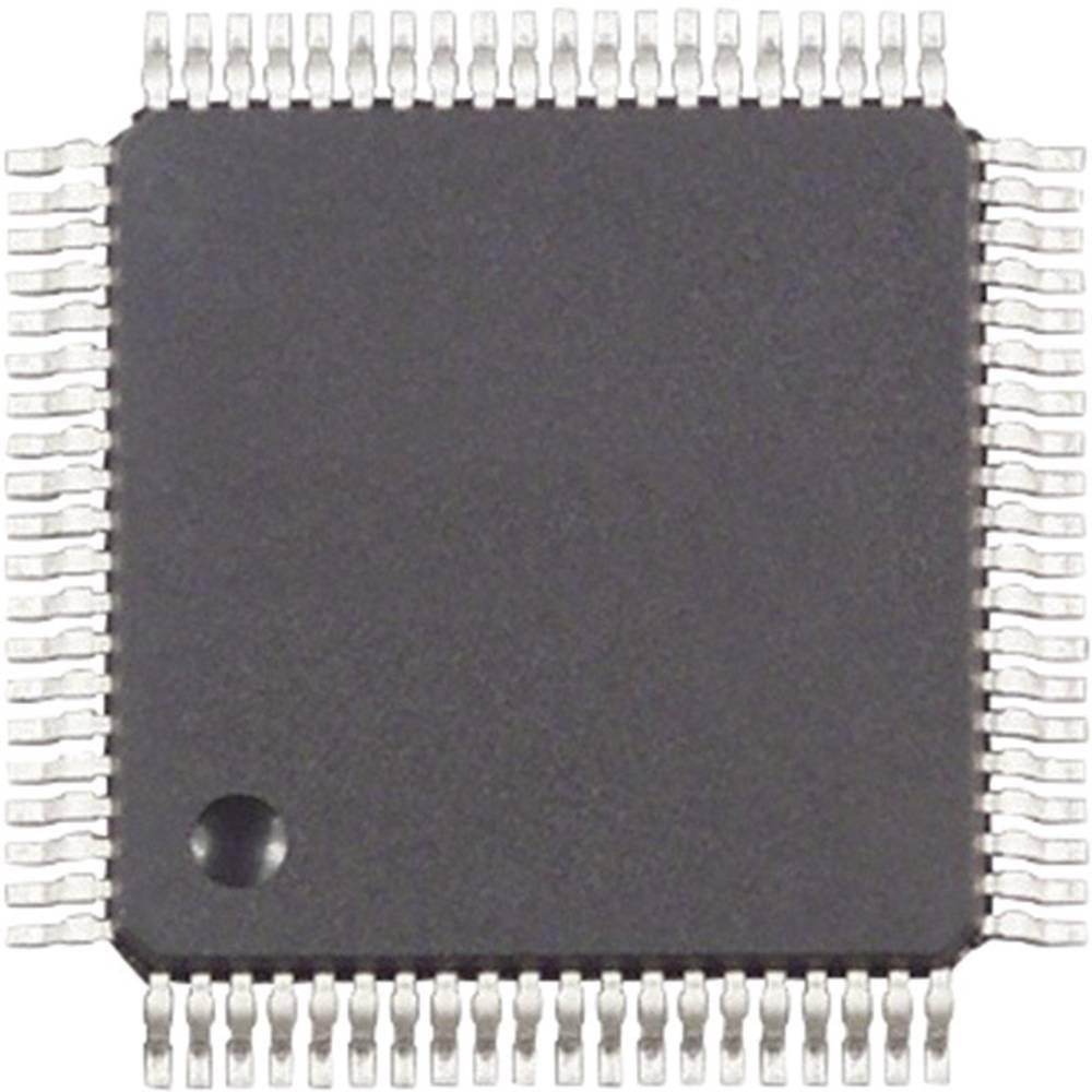 Vgrajeni mikrokontroler MC9S12C64MFUE QFP-80 (14x14) NXP Semiconductors 16-bitni 25 MHz število I/O 60