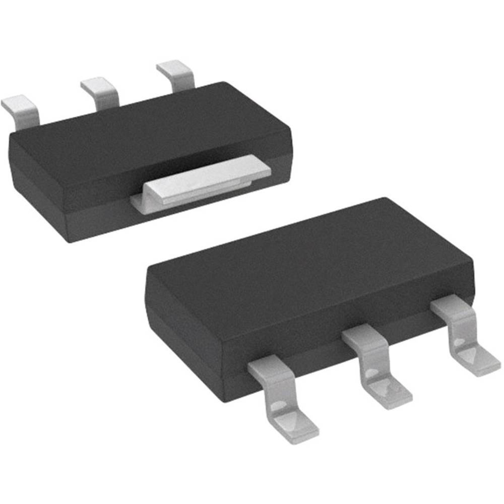 MOSFET DIODES Incorporated ZXMN6A08GTA 1 N-kanal 2 W SOT-223