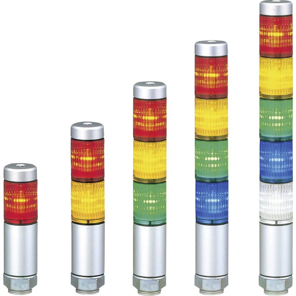 Signalni svetlobni modul Patlite MPS-202-RG rdeča, zelena rdeča, zelena neprekinjena luč 24 V/DC