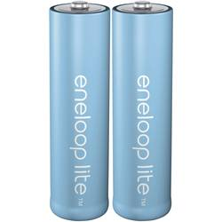 Laddbart batteri R6 (AA) NiMH Panasonic eneloop Lite HR06 900 mAh 1.2 V 2 st
