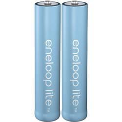 Micro (AAA) akumulator NiMH Panasonic eneloop Lite HR03 550 mAh 1.2 V 2 kosa
