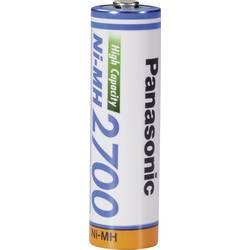Laddbart batteri R6 (AA) NiMH Panasonic HR06 2700 mAh 1.2 V 1 st