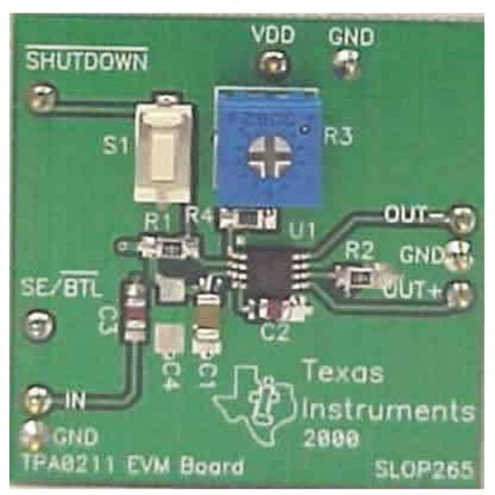 Razvojna plošča Texas Instruments TPA0211EVM
