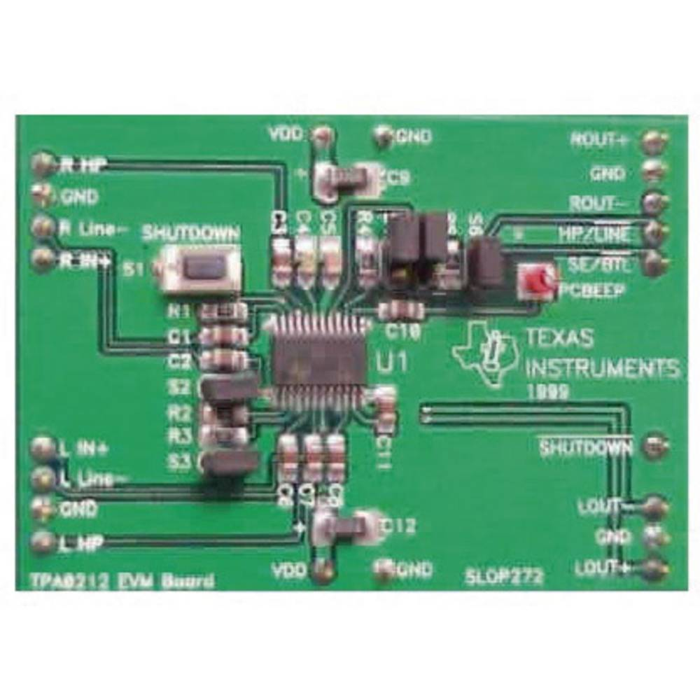 Razvojna plošča Texas Instruments TPA0212EVM