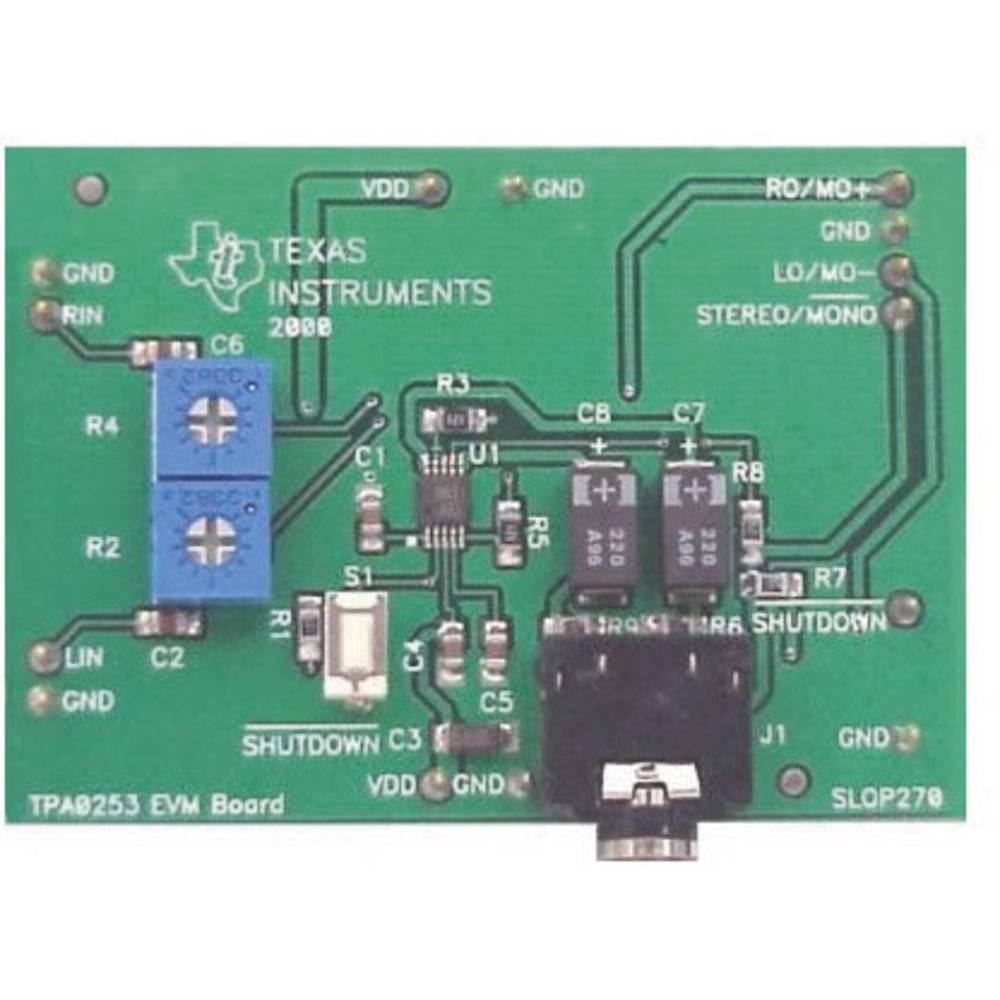 Razvojna plošča Texas Instruments TPA0253EVM